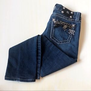 Miss Me Dark Wash Straight Leg Jeans 28